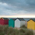 Southwold Beach Huts by shutternutter