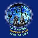 Wild Monkey Swingers Club by dave-ulmrolls