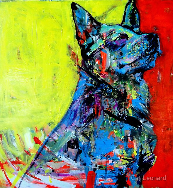 'Good dog' by Cat Leonard