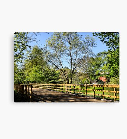 Saucon Rail Trail Canvas Print
