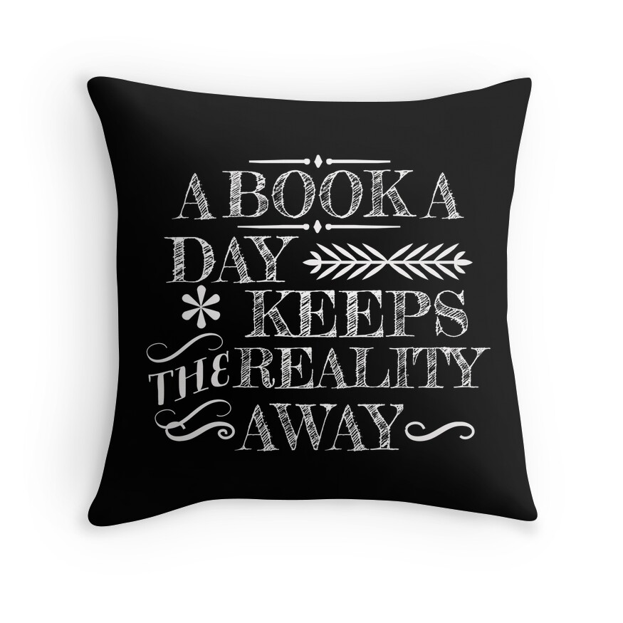 Image result for bookish themed pillow