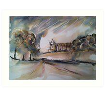 'Autumn, Wharfedale' Art Print