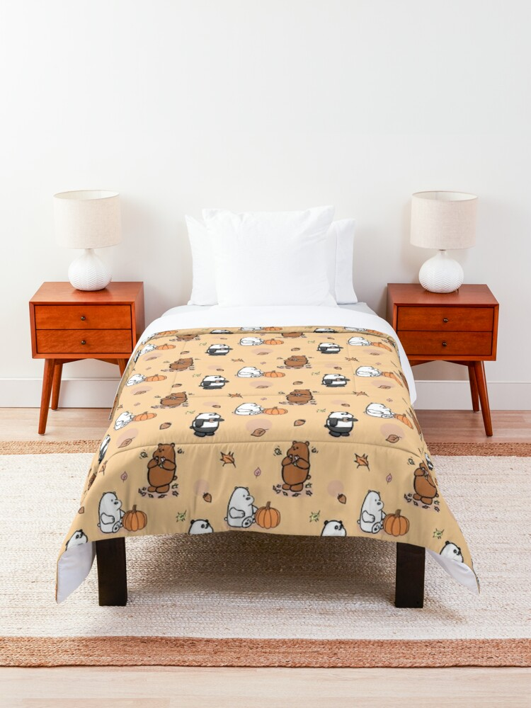 Alternate view of We Bare Bears Autumn Pattern Comforter