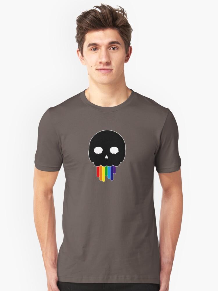 Avoid Peril Rainbow Unisex T-Shirt Front