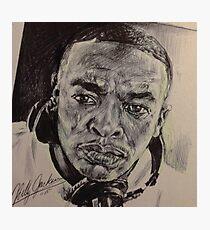 Dr Dre Portrait Photographic Print