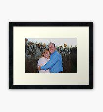 25th Wedding Anniversary Framed Print