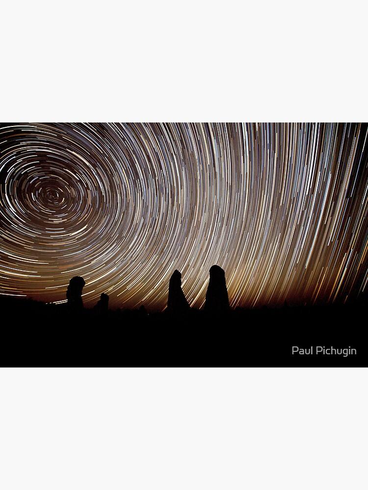 Pinnacles Star Trails by paulmp