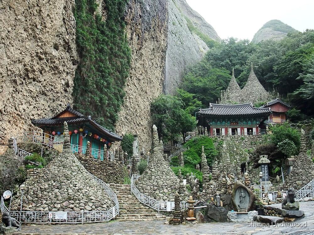 Tapsa Temple, Jinan, South Korea by Shanna Underwood