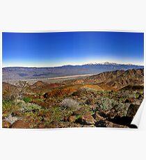 Telescope Peak Panamint Valley, CA Eastern SIerras Poster