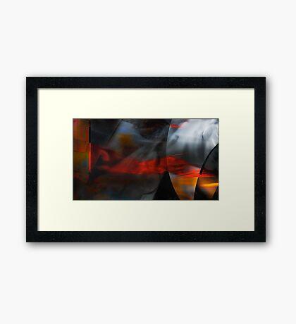 Burning Intuition  Framed Print