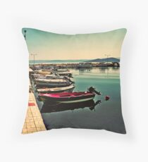 THE OTHER SIDE.... Throw Pillow