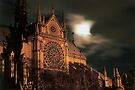 Notre Dame Moon by Blake Steele