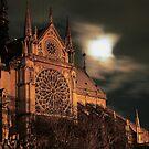 Notre Dame Moon by Blake Steele