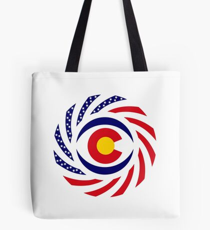 Coloradan Murican Patriot Flag Series Tote Bag
