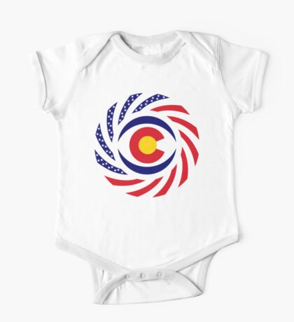 Coloradan Murican Patriot Flag Series Kids Clothes