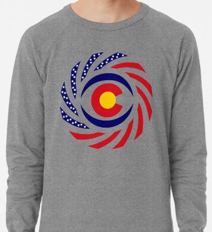 Coloradan Murican Patriot Flag Series Lightweight Sweatshirt