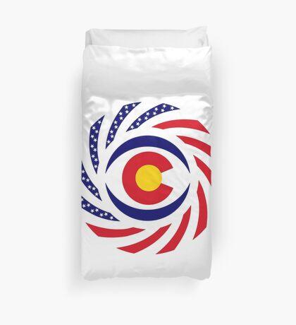 Coloradan Murican Patriot Flag Series Duvet Cover