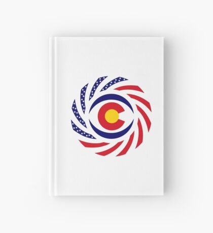 Coloradan Murican Patriot Flag Series Hardcover Journal