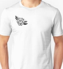 dotwork rose Unisex T-Shirt