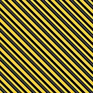 Stripes (Large) - Yellow and Black by Sarinilli