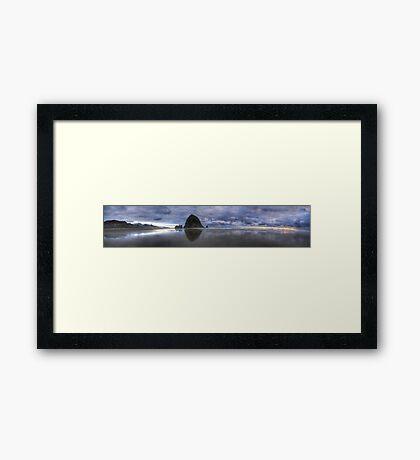 Canon Beach in HDR Framed Print