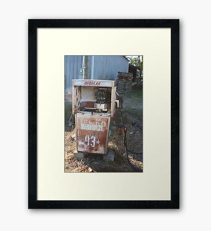 Yester-years Framed Print