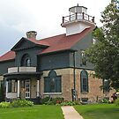 Old Michigan City Lighthouse by Monnie Ryan