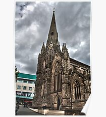 St Martins Church Birmingham Poster
