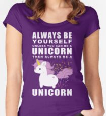 Always - Unicorn Women's Fitted Scoop T-Shirt