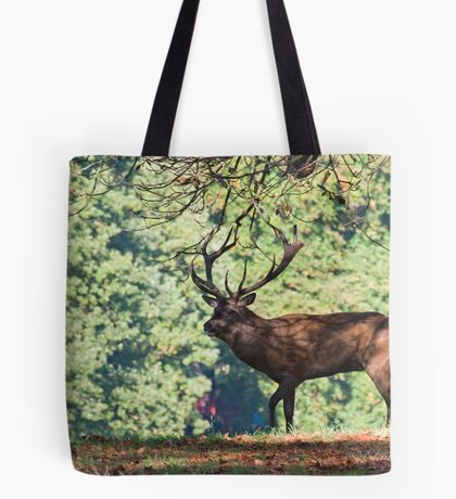 Stag in the tree's Tote Bag