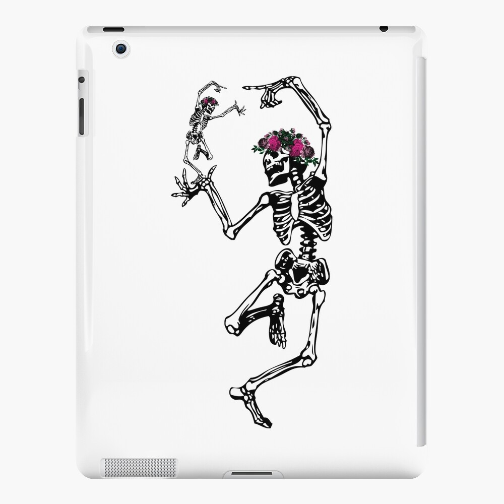 Two Dancing Skeletons | Day of the Dead | Dia de los Muertos | Skulls and Skeletons | iPad Snap Case