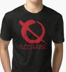 Outer Planets Alliance - Radical Version Tri-blend T-Shirt