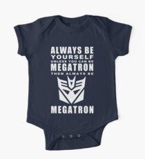 Always - Megatron Short Sleeve Baby One-Piece