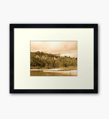 Ancient Castle Framed Print