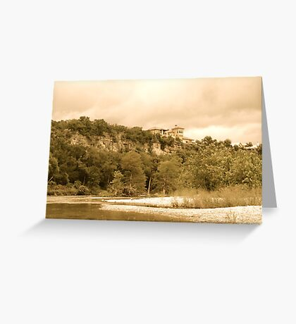Ancient Castle Greeting Card