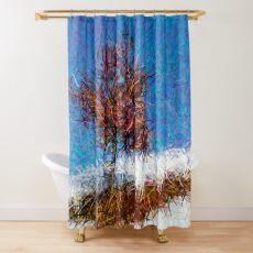 Dendrification 12 Shower Curtain