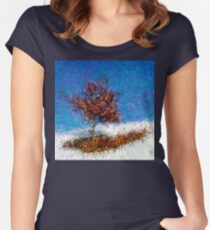 Dendrification 12 Fitted Scoop T-Shirt