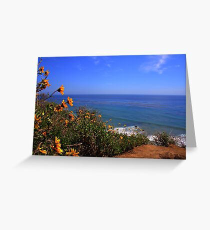 Spring at La Piedra State Beach Greeting Card