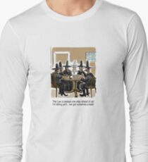 Outlaw Cowboys have a Leak Long Sleeve T-Shirt