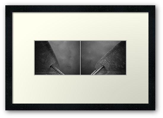 Floating Bridge (diptych 7/8) by Lenka
