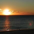 Sunrise over Virginia Beach by Mindy Miller