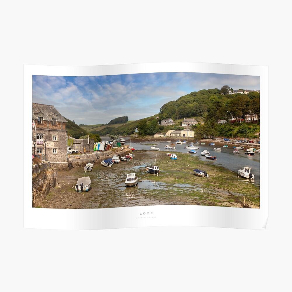 Looe Estuary, Cornwall Poster