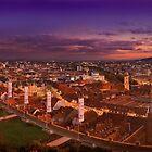 Graz Panorama by Delfino