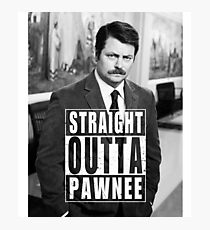 Striaght Outta Pawnee Photographic Print