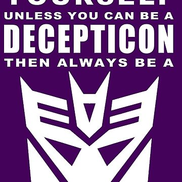 Always - Decepticon by sunnehshides