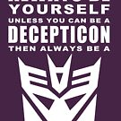 Always - Decepticon by sunnehshides