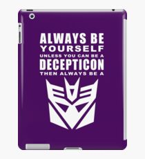 Always - Decepticon iPad Case/Skin