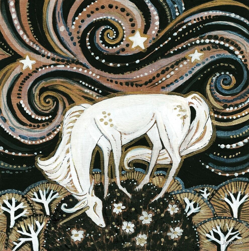 If I Found a Unicorn - Cute Unicorn Art, Whimsical Unicorn Art Work, Fantasy Unicorn Art by Jezhawk