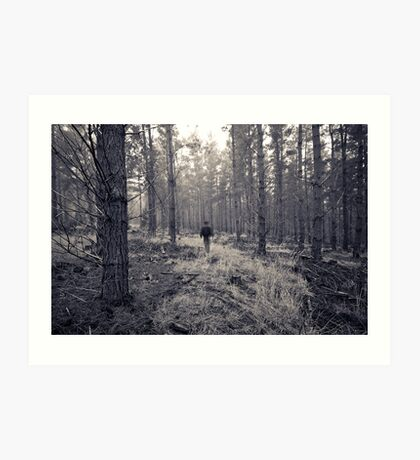 If you go into the woods... Art Print