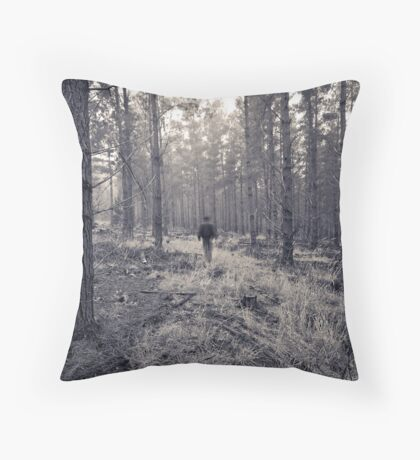 If you go into the woods... Throw Pillow